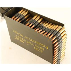 Lot of 30 Cal Ammo