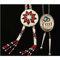 Lot of 2 Bolo Ties