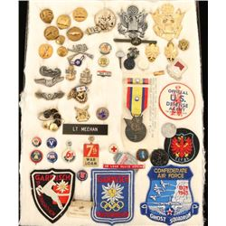 Collection of American WWII Insignia