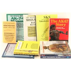 Lot of Gun Books and Manuals
