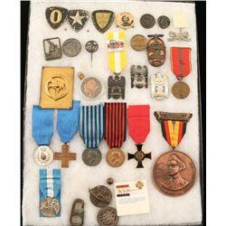 Assortment of Medals