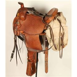 Crates Saddle & Breast Collar