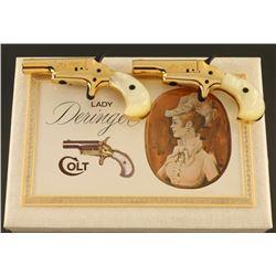 """Colt 'Lady"""" 4th Model Derringer Set .22"""