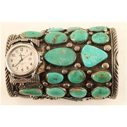 Massive Navajo Mens Watchband Cuff
