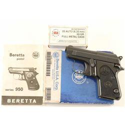 Beretta 950BS .25 ACP SN: BU11207V