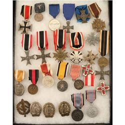 Collection of Original WWII 3rd Rich Metals