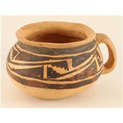 Prehistoric Hopi- Jeddito Handled Mug