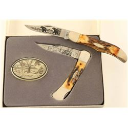 2 Case XX Pennsylvania Limited Edition Knives
