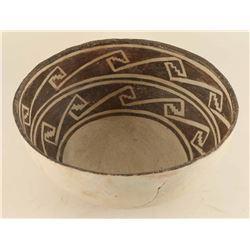 Prehistoric Snowflake Bowl