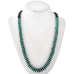 Turquoise Shell Navajo Bead Necklace