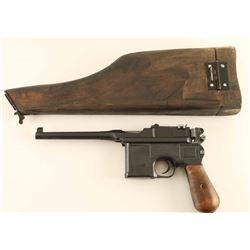 Mauser C96 .30 Cal SN: 422638