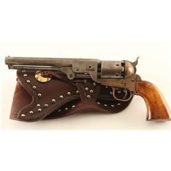 Aged 1851 Reproduction Revolver w/ Holster