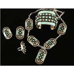 Stunning Sterling & Turquoise Set by Jobeth Mayes