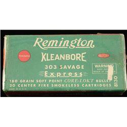 Remington Kleanbore .303 Savage Ammo