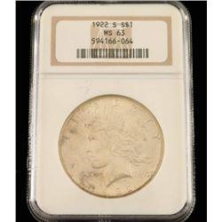 1922 S Liberty Dollar