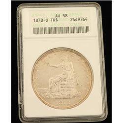1878-S Seated Liberty Dollar