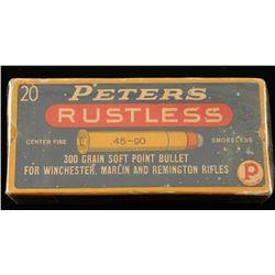 Peters Rustless .45-90 Ammo