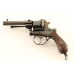 Lefaucheux Style 9mm Pinfire Revolver #2276