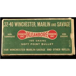 Remington Kleanbore .32-40 Win Ammo