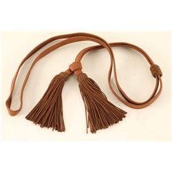 Brown Cloth Sword Knot