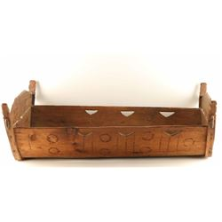 Antique Wooden Cradle