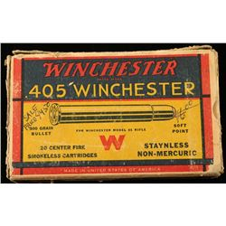 20 Rounds of Winchester .405 Win Ammo