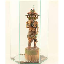 Kachina in Glass Case