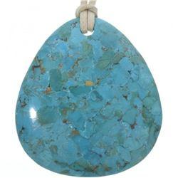 Native American Turquoise Slab Unisex
