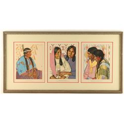 Lot of Framed Prints by Winold Reiss