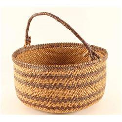 Maidu Twined Basket