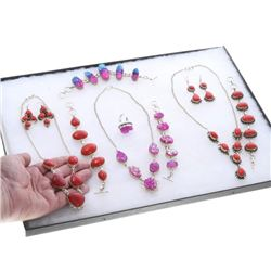 Lot of Ladies Colorful Fashion Jewelry