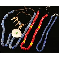 Lot of 3 Trade Bead Necklaces