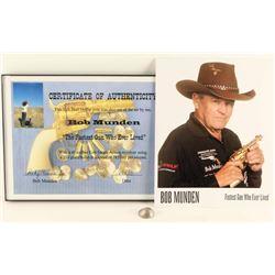 Bob Munden Memorabilia