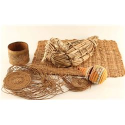 Lot of Basketry Items