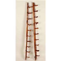 Eastern Red Cedar Rifle Rack