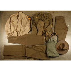 Pre WWII Army 2nd Cavalry Uniforms