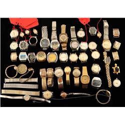 Lot of Vintage Wristwatches