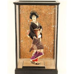 Geisha Doll in Shadowbox