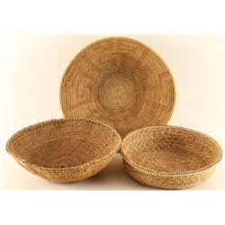 Lot of 3 Baskets