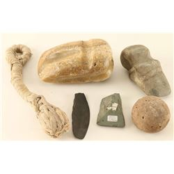 Lot of Stone Artifacts