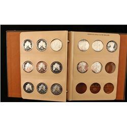 Book of American Eagle Silver Dollars