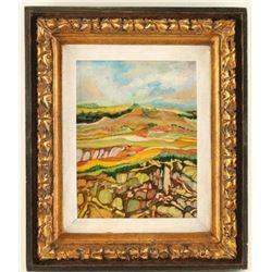 Original Oil by Jesse M. Knott II
