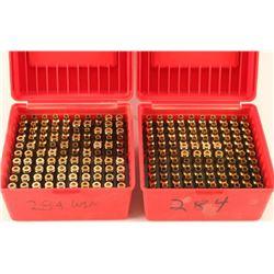 Lot of 284Win Brass