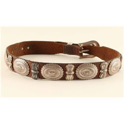 Belt with Conchos & Butterflies