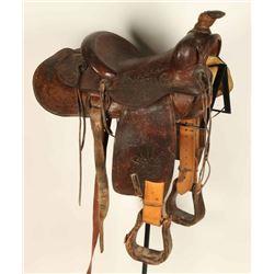 Parker Tooled Saddle