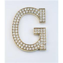 Amazing Custom Diamond Studded Letter