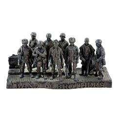 Band of Brothers (2001) American TV series, A crew gift statue given to members of the cast and crew