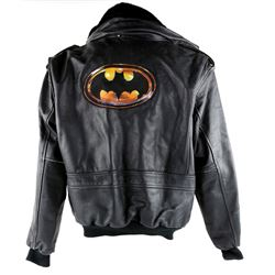 Batman (1989) A rare Crew jacket from the Tim Burton classic. Only a few of the jackets were made fo