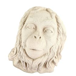 Planet of the Apes (1968) - Law Giver Ape, a rare plaster cast made from the original screen used pr