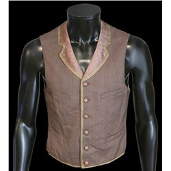 Wild Bill (1995) John Hurt Production made waistcoat, label for Western Costume Co 295I -3, Chest 37
